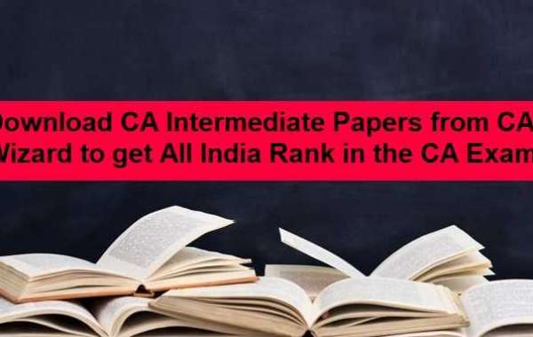 Download CA Intermediate Papers from CA Wizard to get All India Rank in the CA Exams