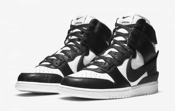 "Hot Sale Ambush x Nike Dunk High ""Black White"" CU7544-001 to release on December 11, 2020"