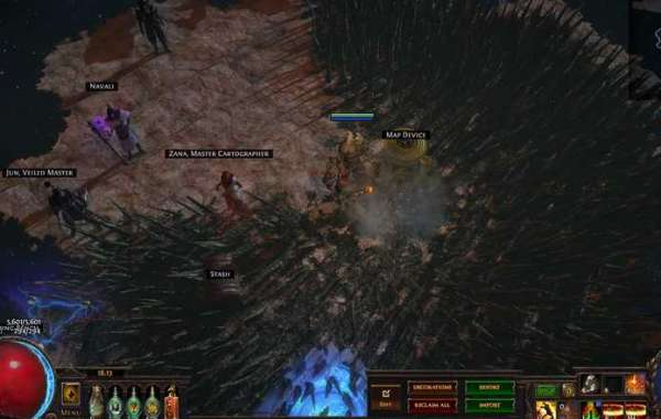 Research on small details in the new extension of Path of Exile