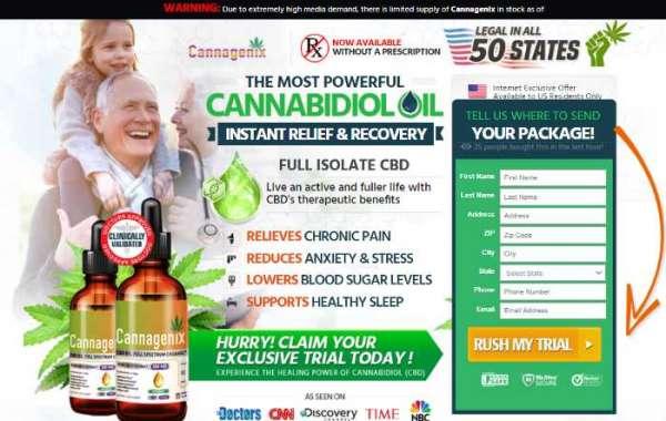 Cannagenix CBD Oil  control aggravation of the body