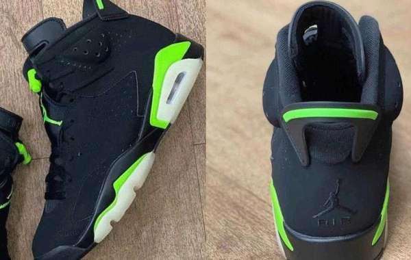 CT8529-003 Air Jordan 6 Electric Green Black Releasing Soon