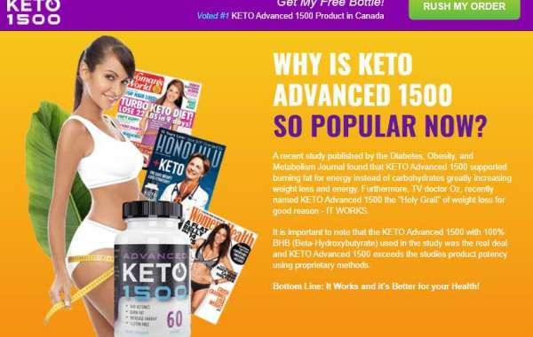 Who might be the maker of Keto Advanced 1500 ?